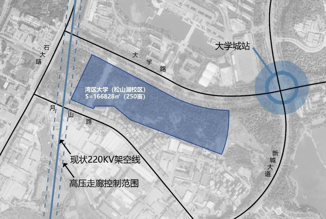 最新披露!湾区大学将建2个校区,选址确定_建设