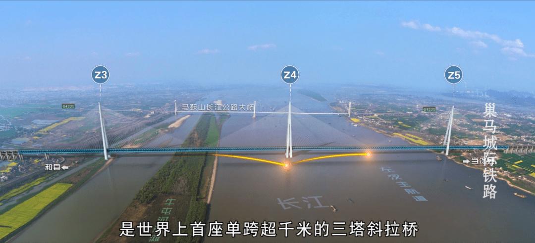 又一座跨江工程!马鞍山公铁两用长江大桥今天开工