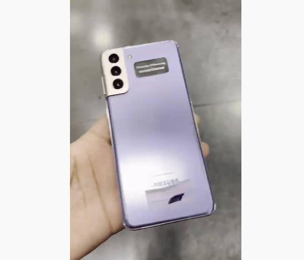 三星Galaxy S21+上手视频出炉:极为轻薄