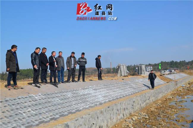 道县:抢抓晴好天气修建生态渠
