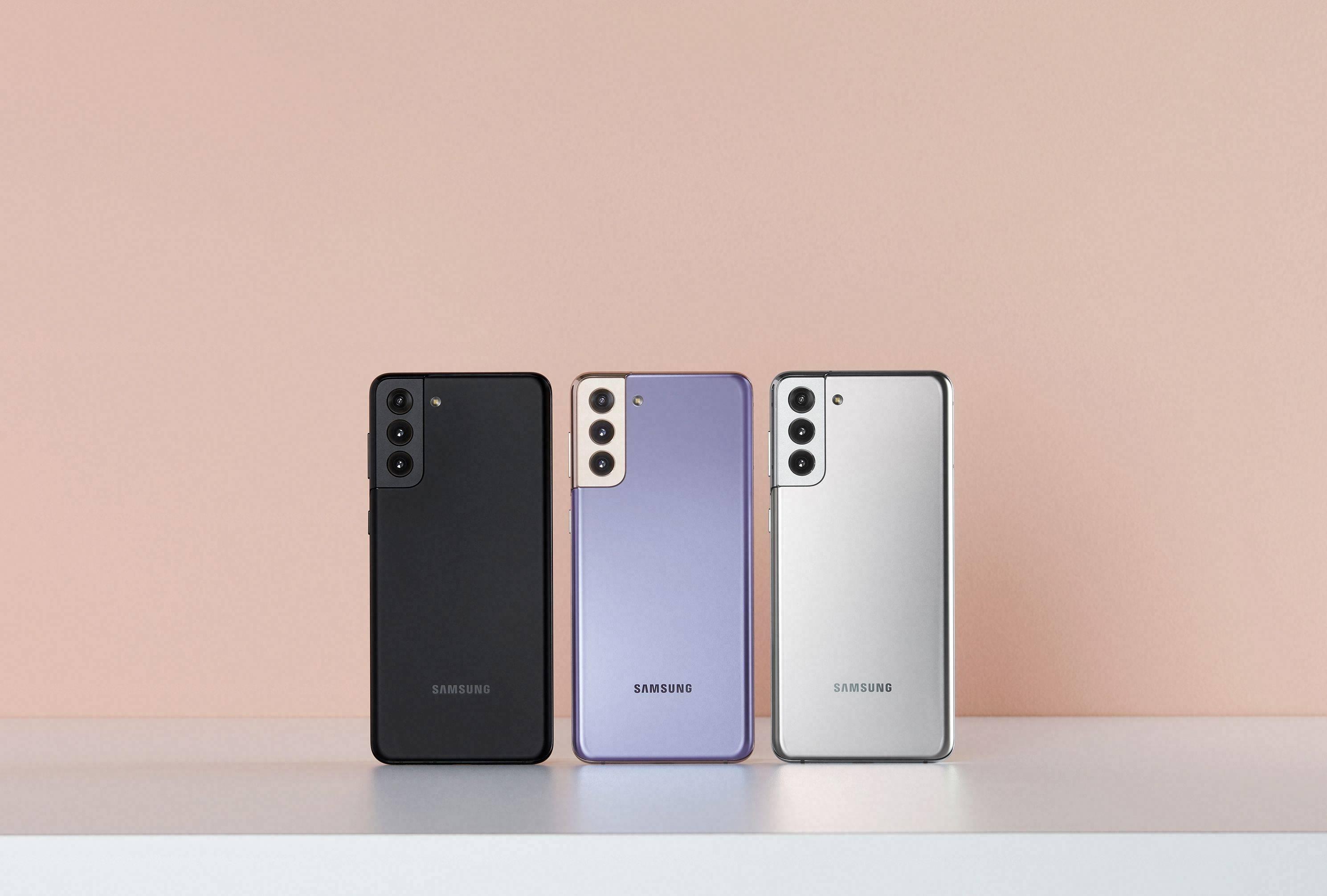 三星 Galaxy S21 系列发布:三款机型,强弱分明