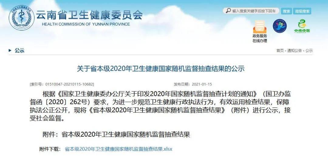抽查结果公示!云南43个单位被责令改正, 涉及多家医院、学校…
