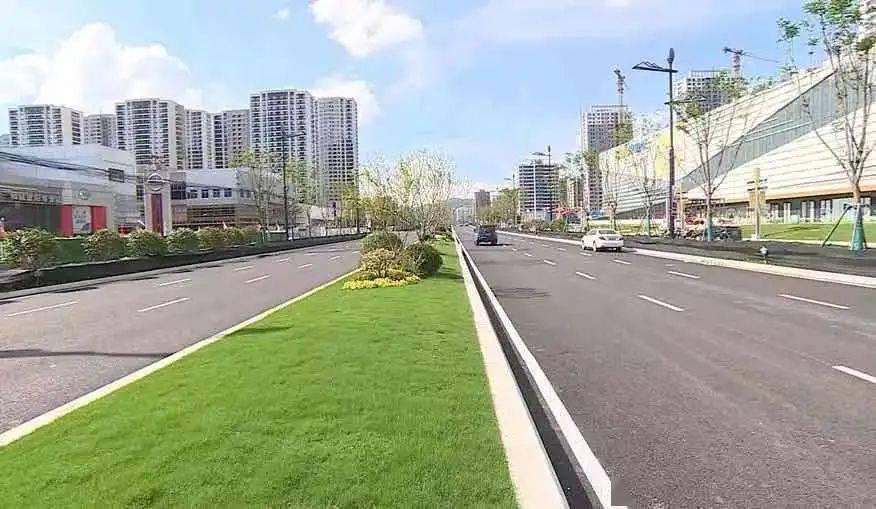 别墅绿化景观效果图_道路景观绿化图片_道路绿化景观设计