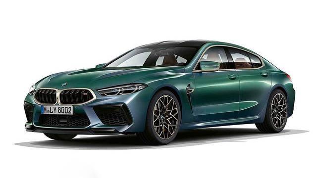 售价256.8万,宝马M8极光版国内上市,蓝绿车漆可变色!