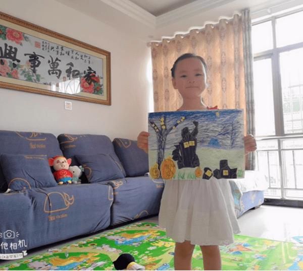 """湖北沙洋毛李中心幼儿园:别样""""六一"""" 精彩陪伴"""