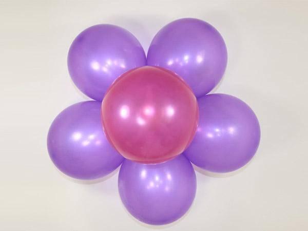 圆气球最简单做法图片,2020普通气球造型