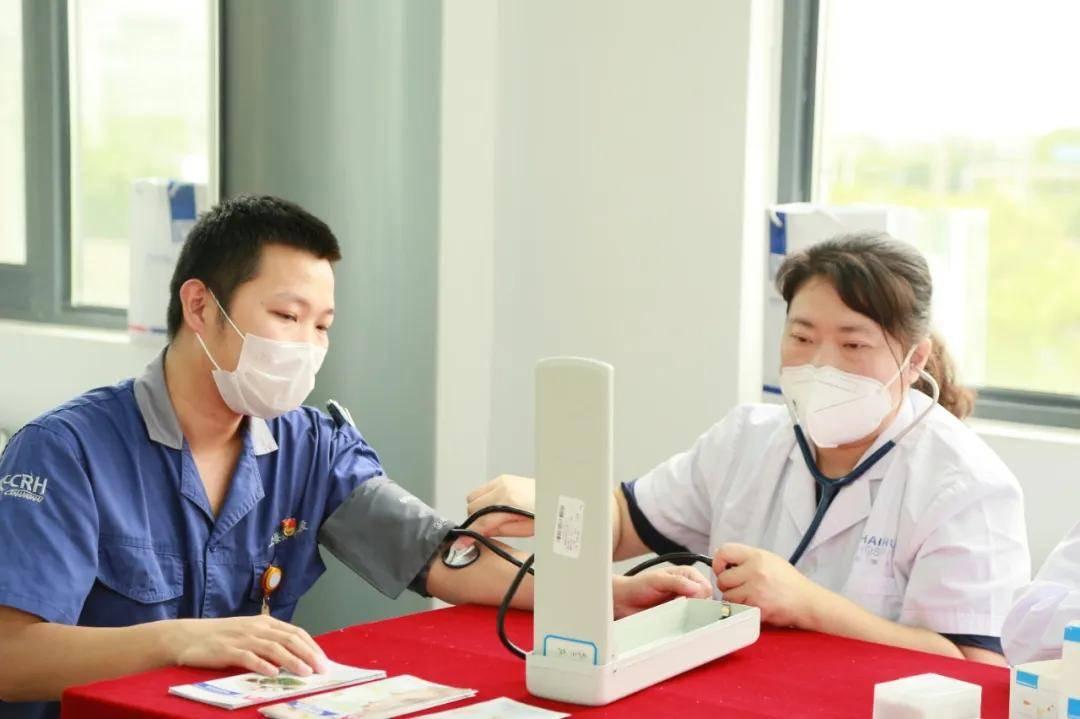 上海海华医院健康讲座+诊疗服务进企业