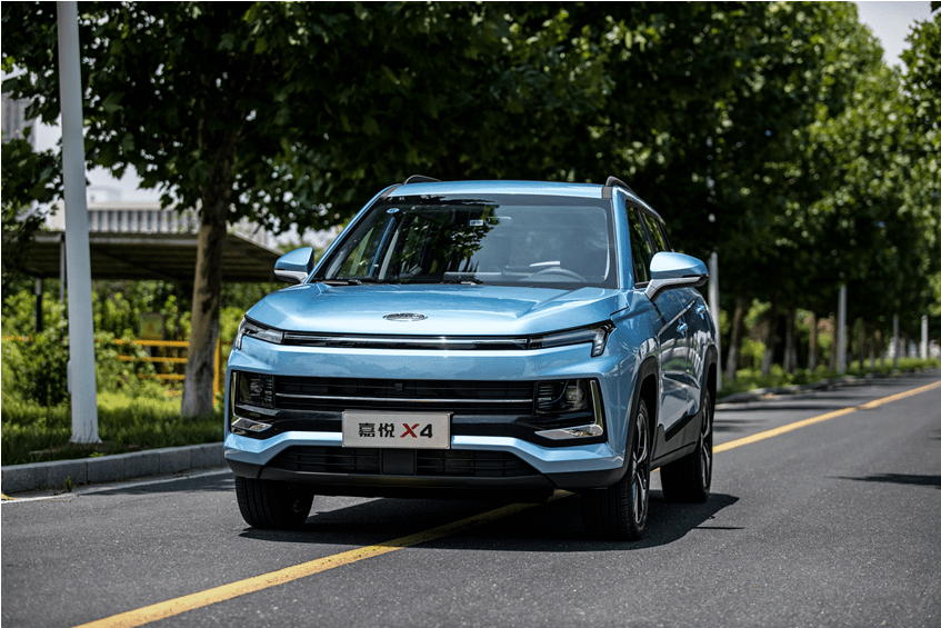 车型品质达到合资水准 嘉悦X4售价6.28万起