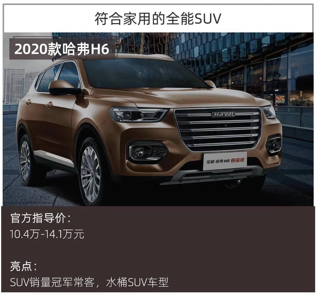 SUV精选 | 人生第一辆车,10万元买什么SUV性价比最高?