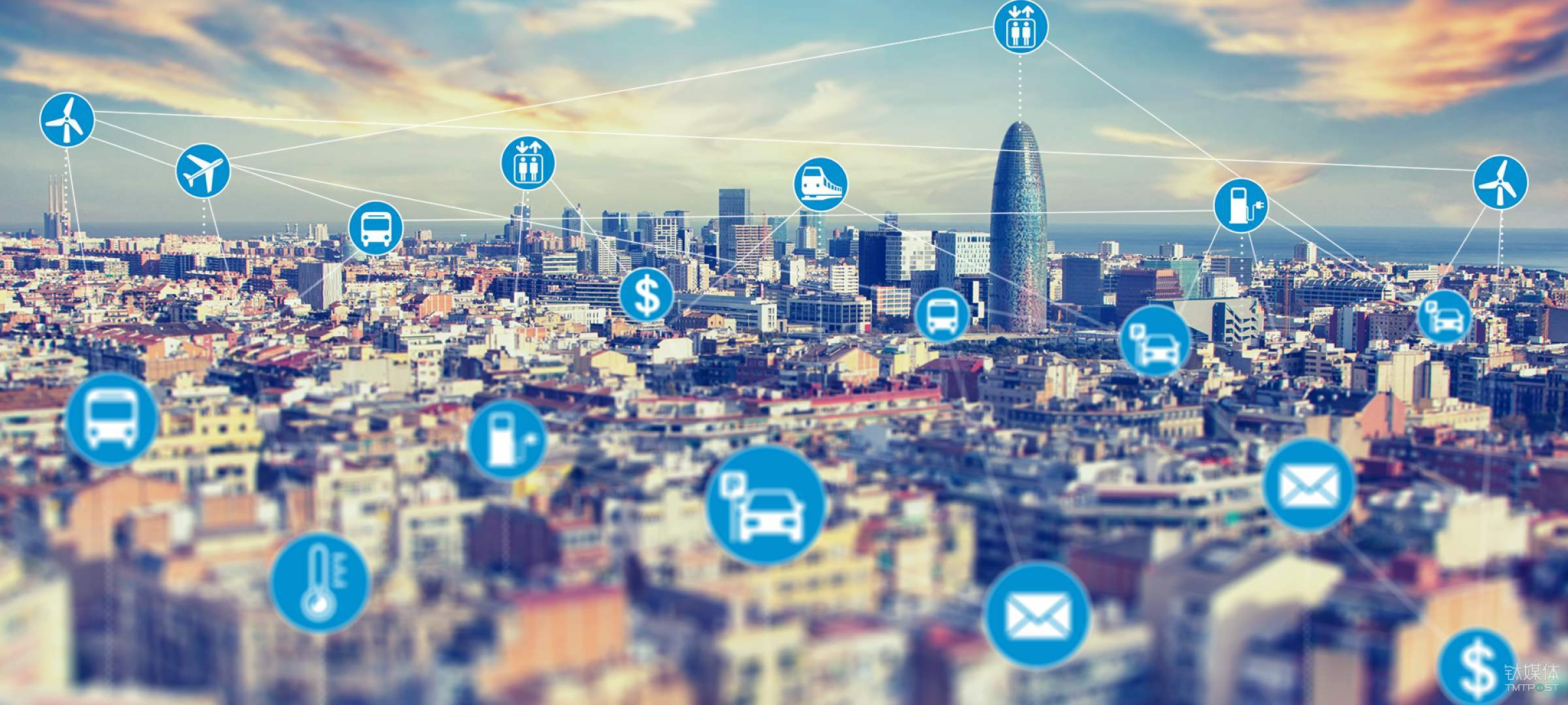 "5G開啟""智慧城市""的新機遇"