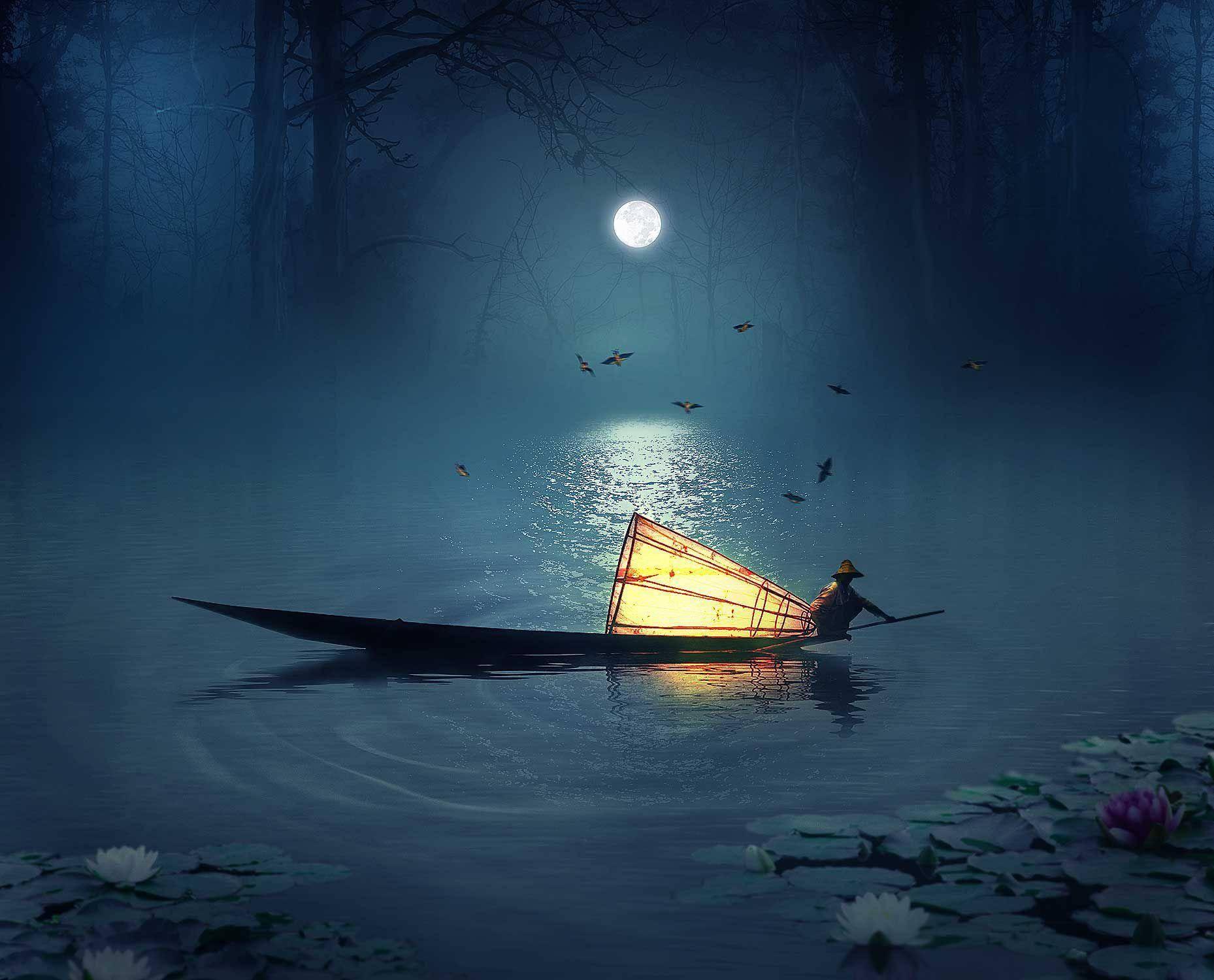 南水秋水夜无烟的南湖指哪里