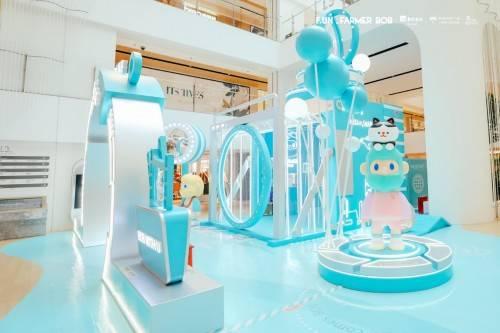 风靡全球潮玩IP Farmer BOB国庆黄金周空降上海,打造最潮打卡地标