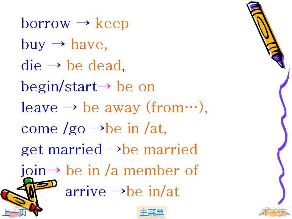 现在完成时标志词(现在进行时的标志词)