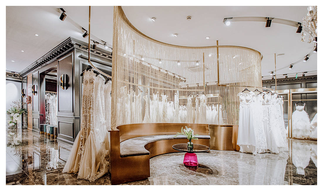 探访GRACE KELLY 全球高级婚纱与礼服殿堂
