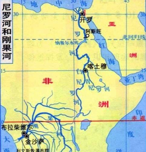 世界上最长的河流 非洲尼罗河(全长6750千米) 网络快讯 第2张