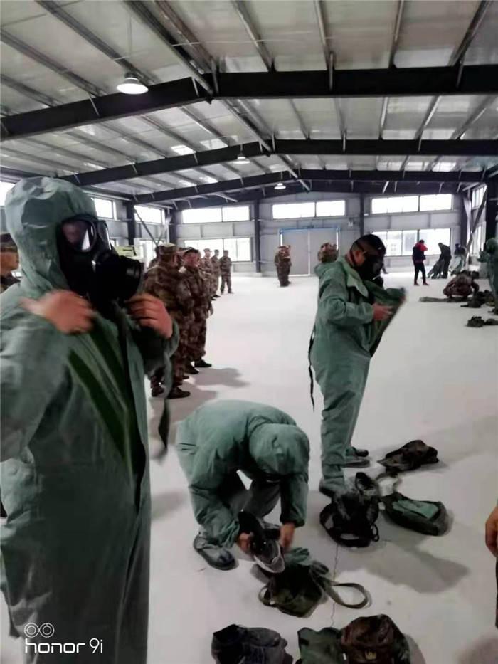 响水县交运局参加全县基干民兵轮训获表彰