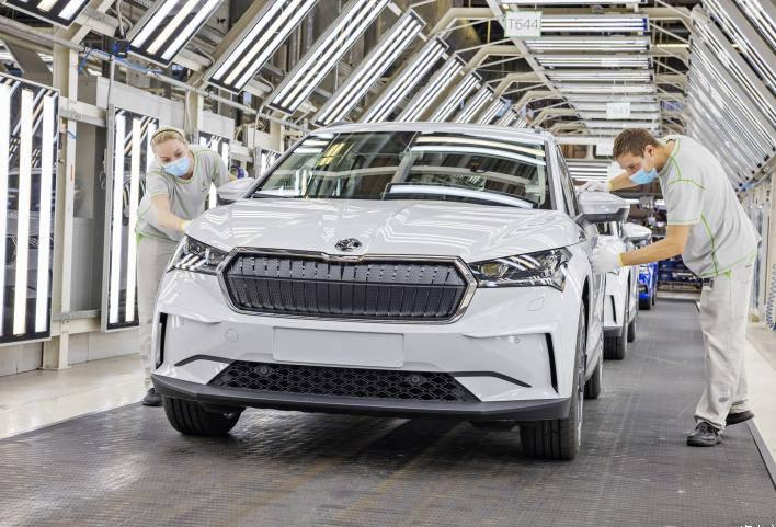 首款MEB车型 斯柯达ENYAQ iV海外投产-XI全网