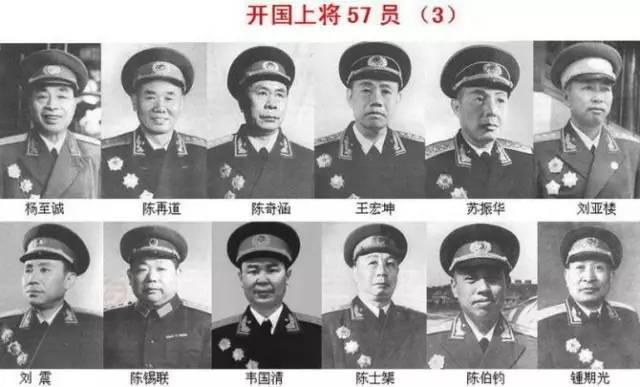 十大元帅十大将军排名(共和国十大元帅,十大将军,57位上将!) 网络快讯 第6张