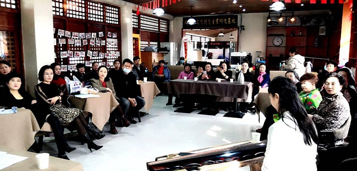 青海省西宁市城北创客书吧举办《琴风古韵》夏都市民大讲堂