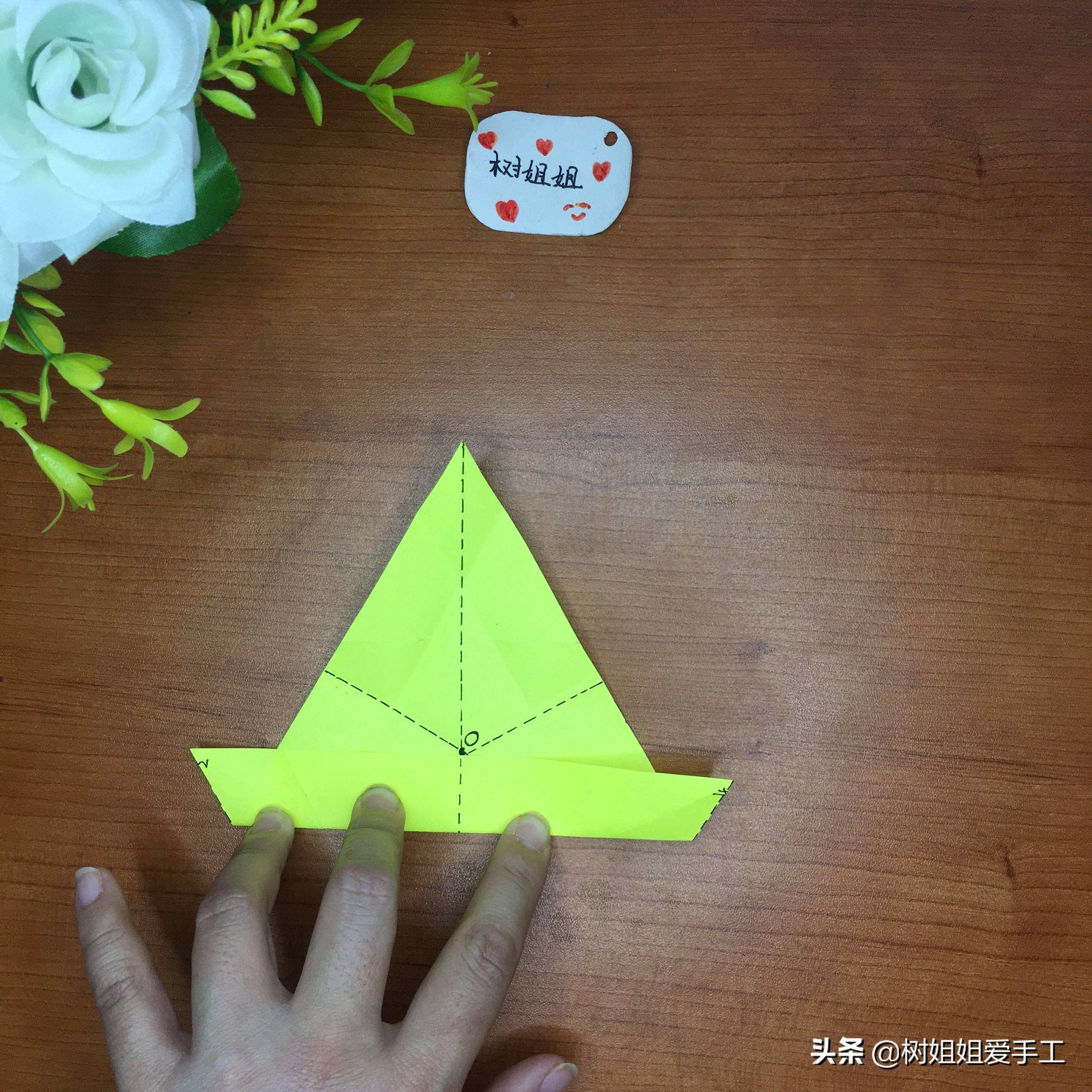 简单三角飞镖怎么折(可以变三种的飞镖)插图(6)
