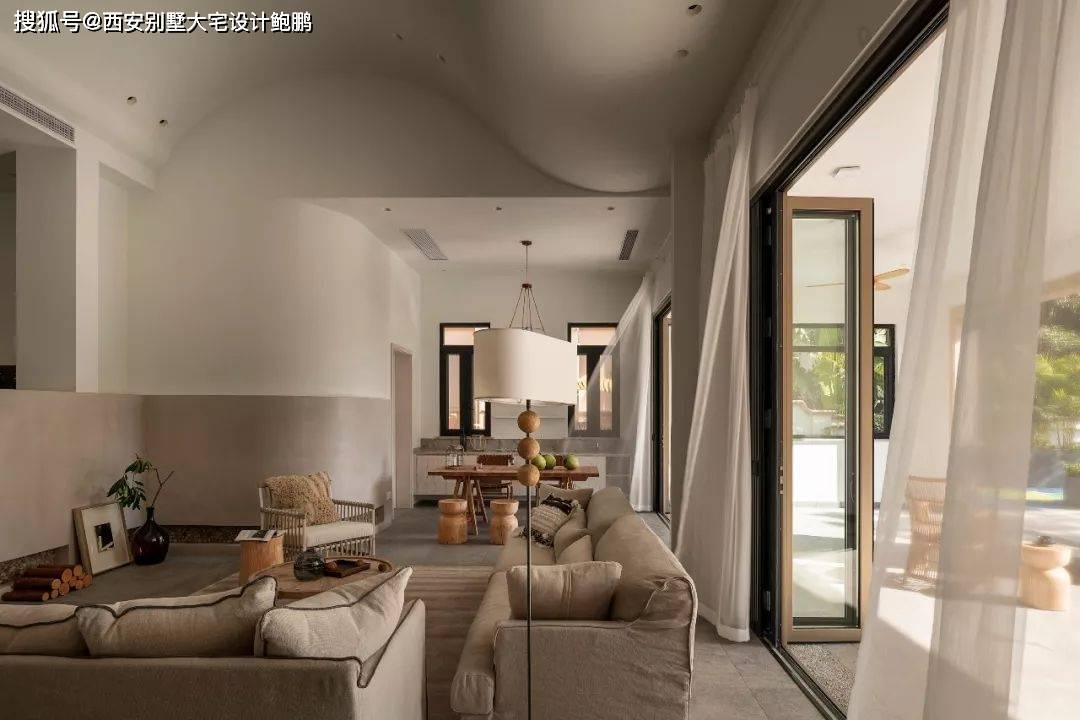 Xi安别墅大厦设计:原木度假别墅,罕见的简约与浪漫