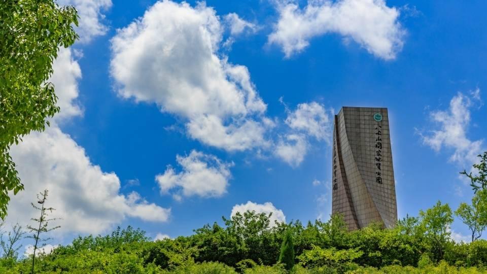 淮南最奇特的建筑,明明是一个展览馆,却常被误认为是巨型雕塑