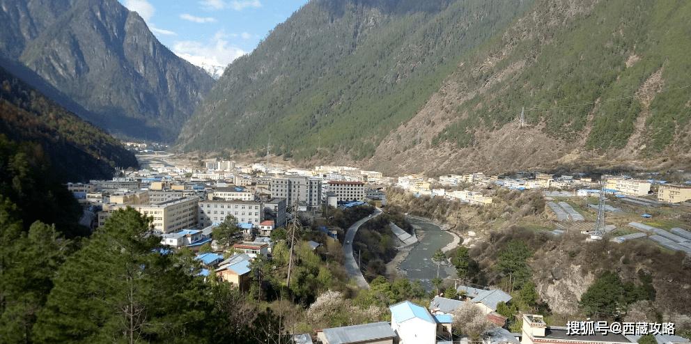 西藏最适合居住的小县城,偏居东南的察隅