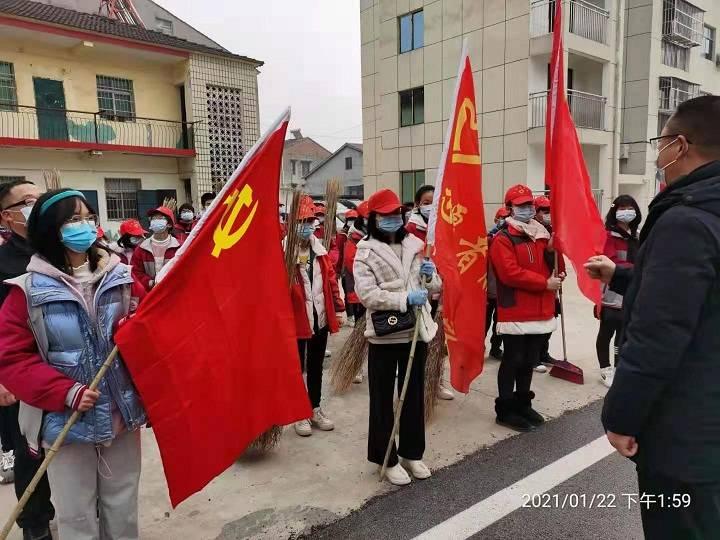 湖北省宜城市李垱社区用行动守护美丽家园