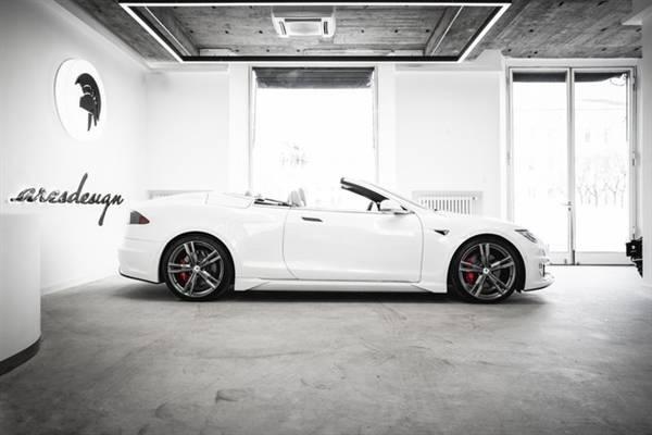 最后的倔强?!来自意大利的敞篷版特斯拉Model S