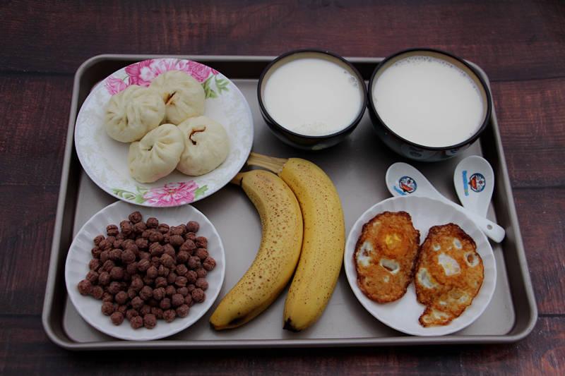 放假了,晒晒我给孩子准备的早餐,七天不重样,简单方便