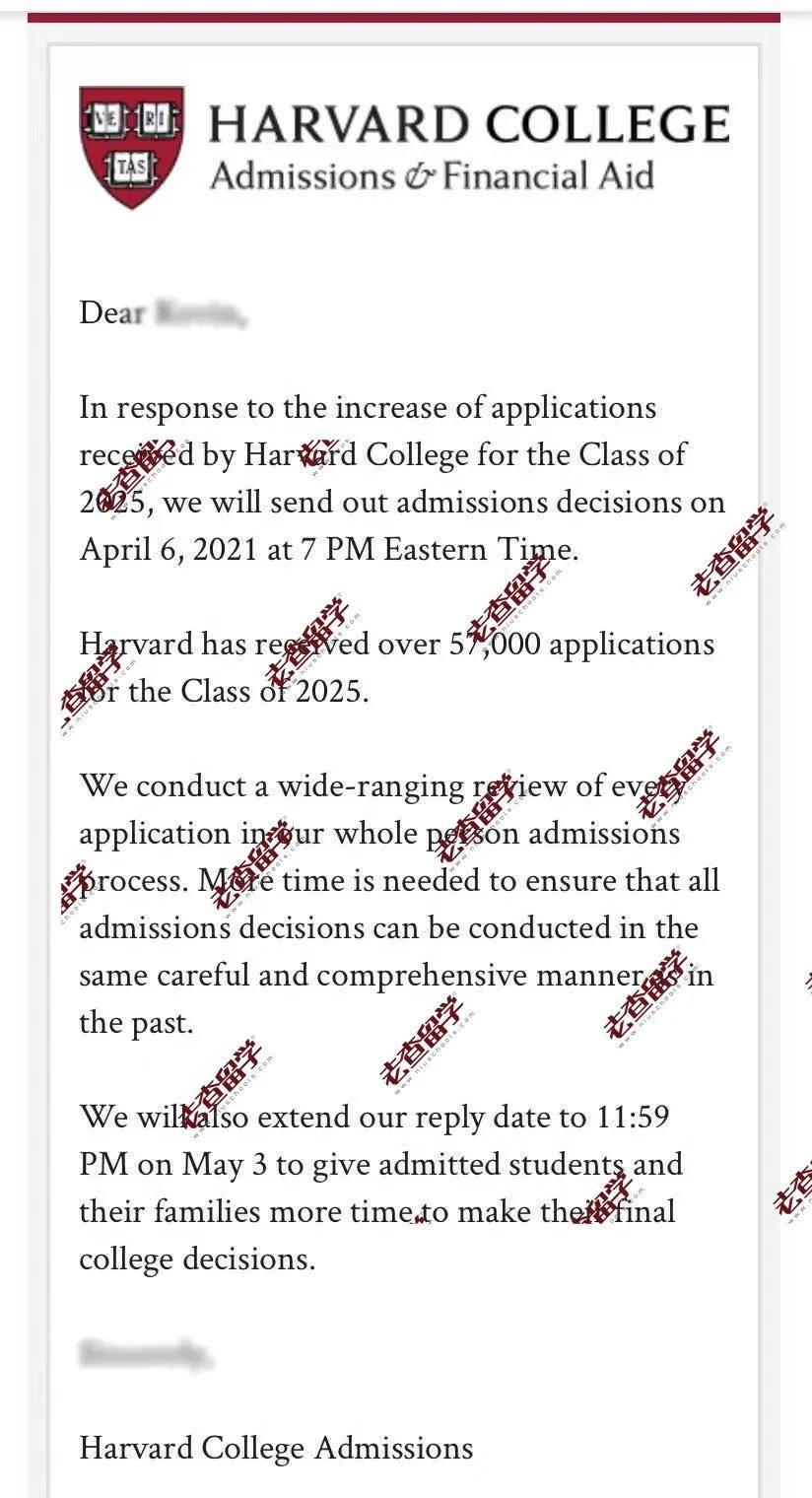 疫情之下,藤校申请数量暴涨,今年4月6日发榜,打破若干年传统!