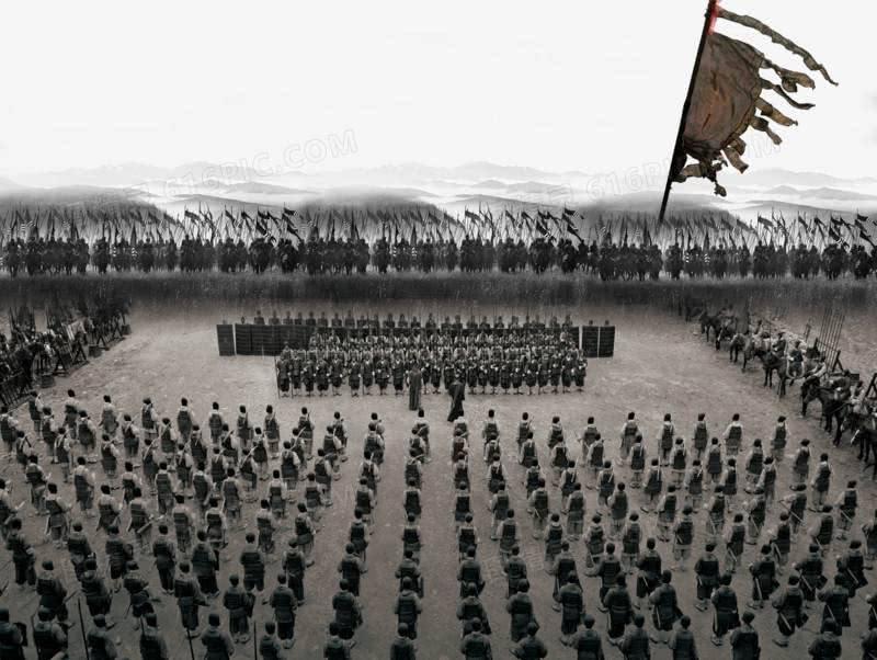 兵不厌诈,东晋名将布下一迷魂阵,1000多支长矛大破对手3万骑兵
