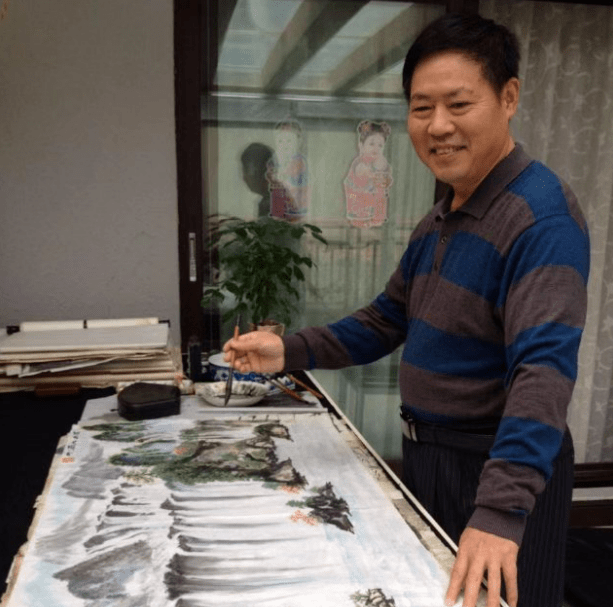 当代书画名家——徐建龙 范曾作品鉴赏