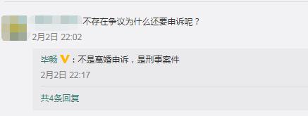王小蒙扮演者毕畅回应离婚风波:与孩子爸不存在争议