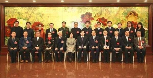 来看看中国书协第八届主席团作品