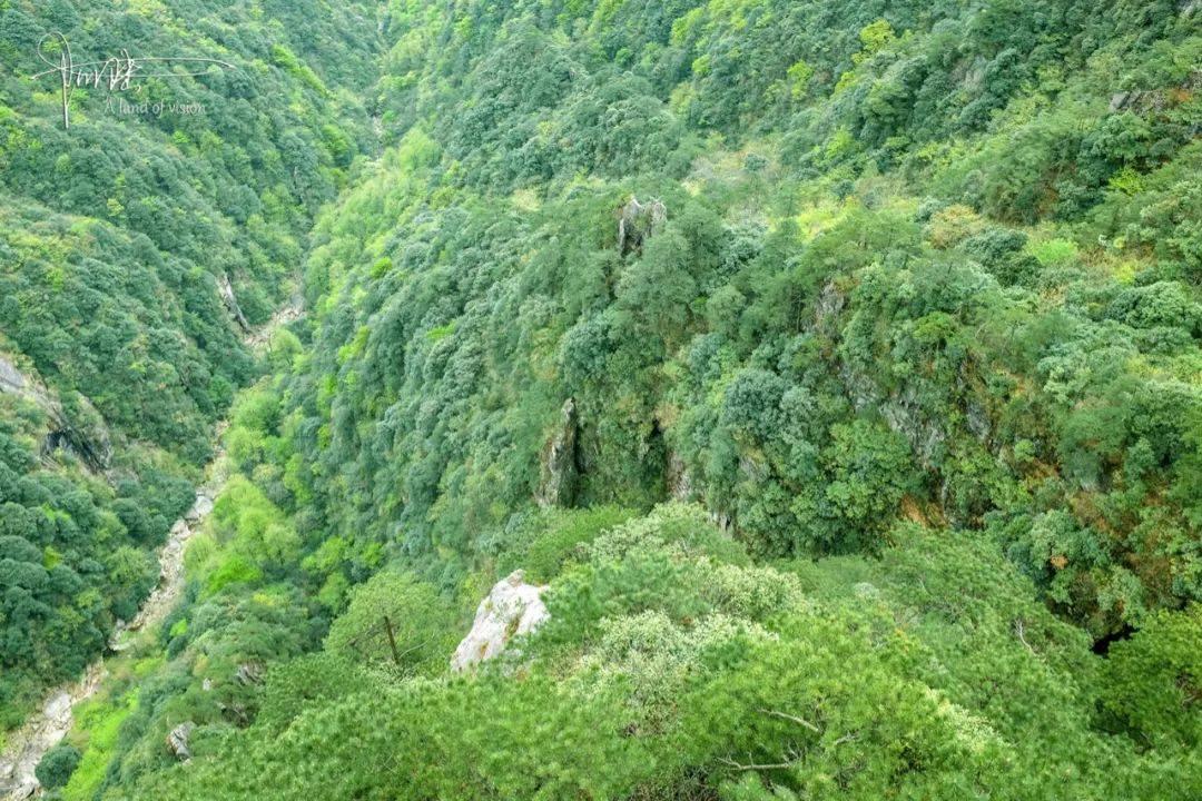 """在明月山发现武功山的""""核心景区界碑"""",可见两者的关系很不一般"""