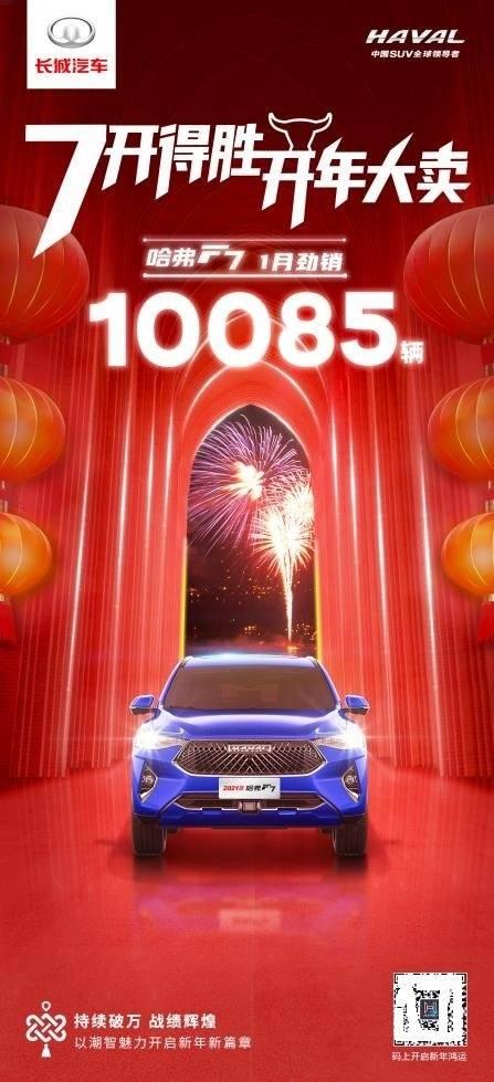 新的一年,新的氛围,哈弗F7欢迎新的突破!