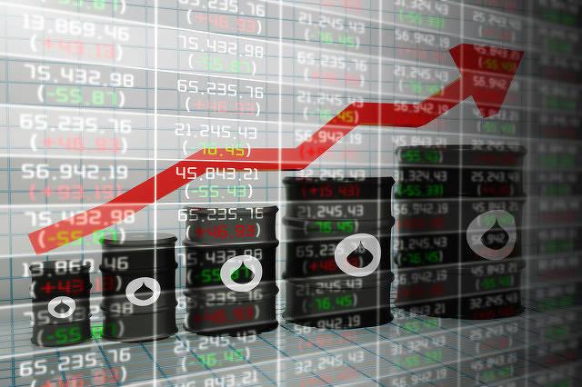 原始油价上涨,接近每桶60美元,对冲基金看涨