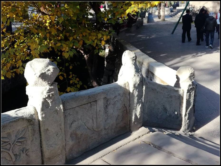 山环水绕无双地,神乐人欢第一区——太原晋祠游记4、水镜台,金人台,对越坊  第19张