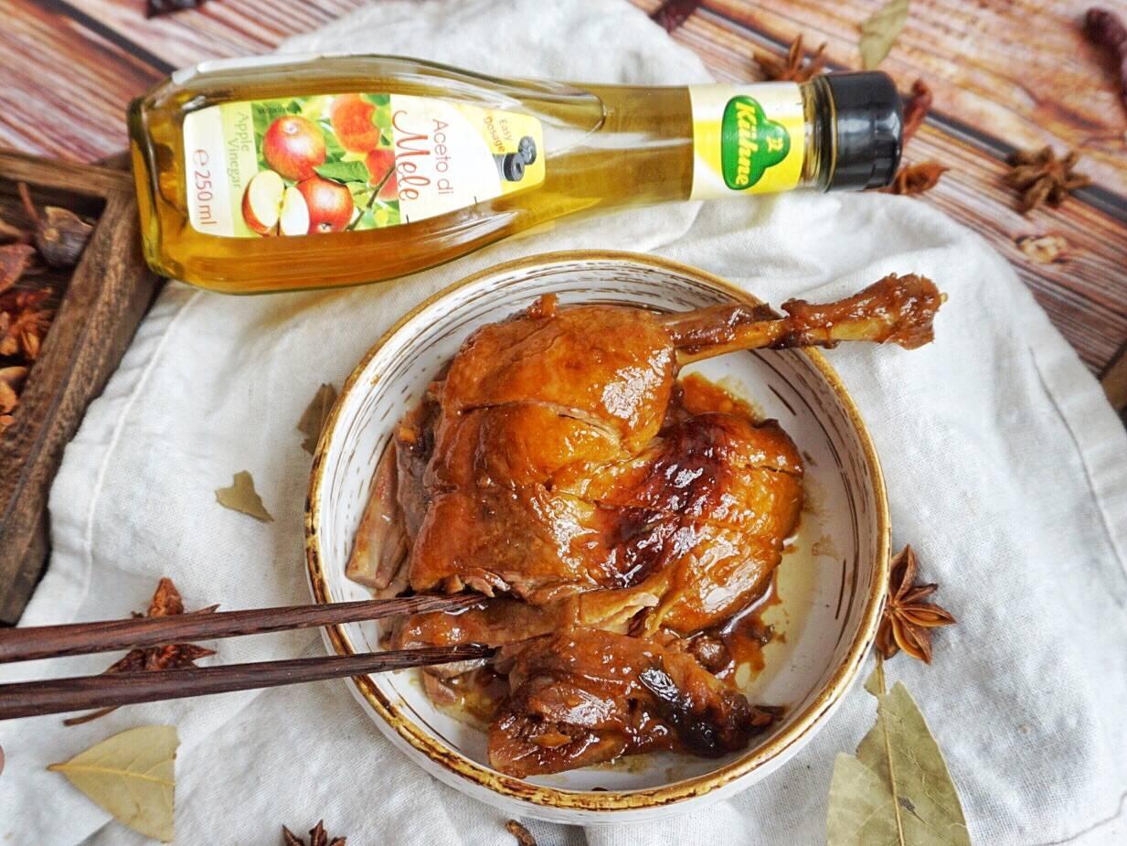 【果香酱鸭】的做法+配方,酱香与果香相融清甜可口,下饭首选!