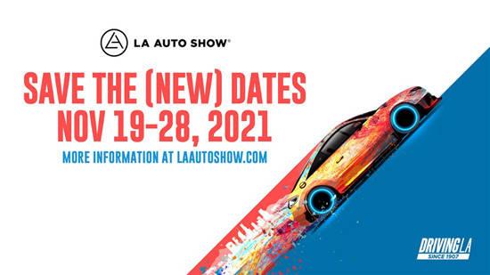 2021年洛杉矶车展或将重启 计划11月举行