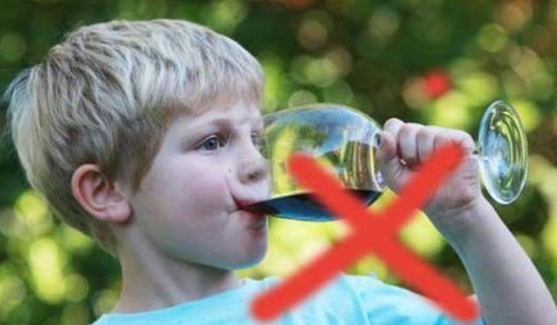 过大年,亲朋好友相聚离不开小酒一杯,但非要逗孩子尝尝就过分了  第3张
