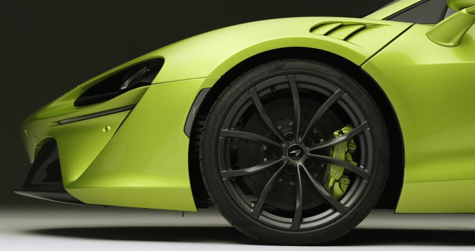 定位混动超跑,V6引擎首次上身 迈凯伦Artura正式发布