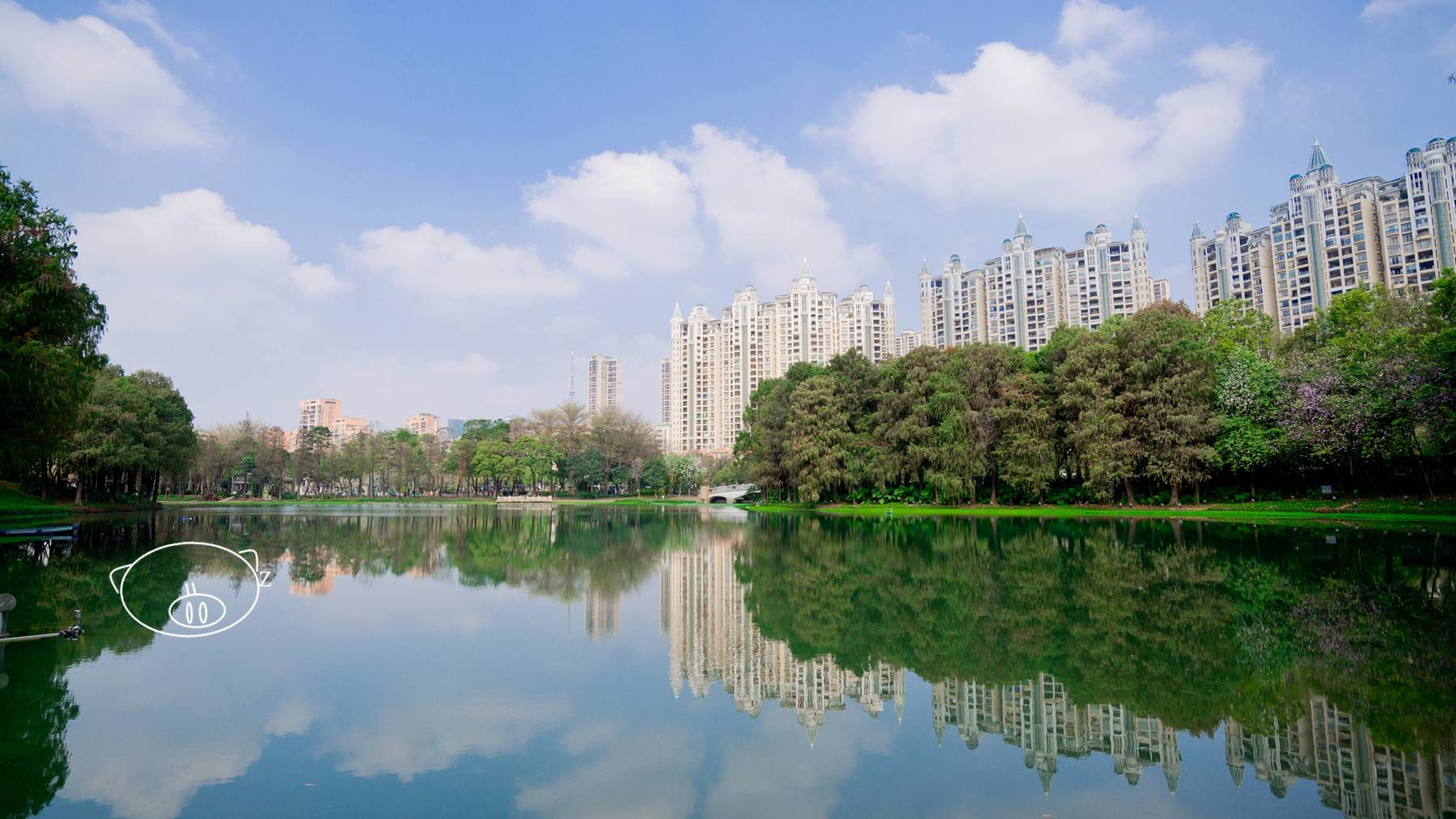 佛山|城中绿地,市民散步休闲好去处,亚艺公园