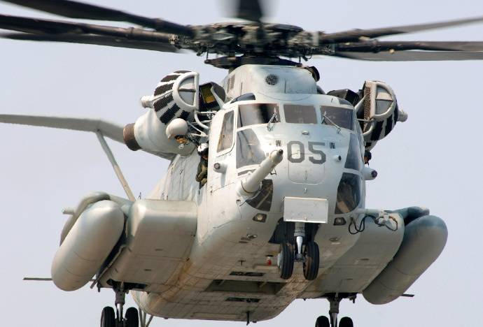 CH-53实力有多强?拥有的技术堪称世界最先进的直升机之一