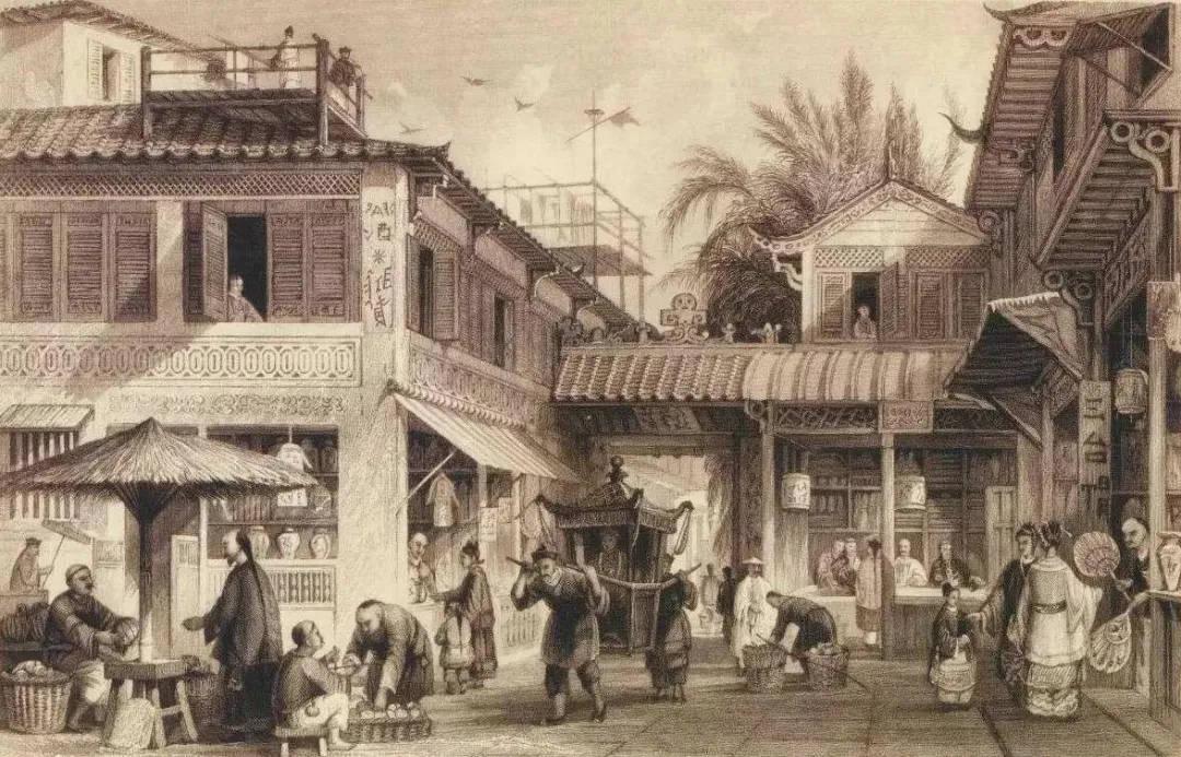 为什么当初清朝的广州十三行没有像英国东印度公司一样成为贸易寡头