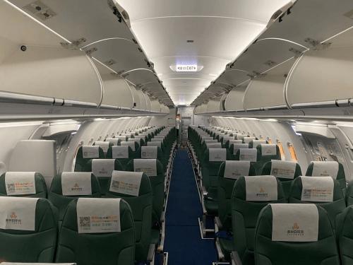 哇塞,春秋航空新飞机超酷,卫生间配婴儿护理板,超贴心!