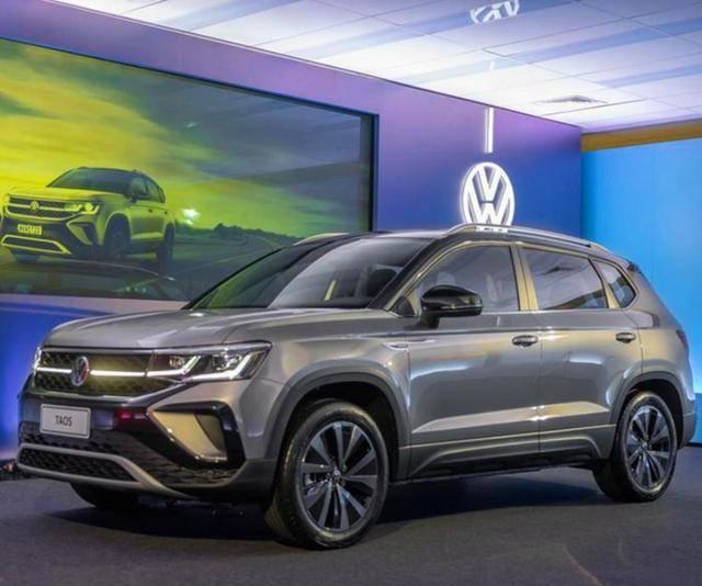 原装大众SUV无双离合,新款Taos实车,带8AT四轮驱动系统