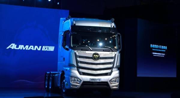 """欧曼自动重型卡车迎来了第50000次下线!比很多材料提前""""变质""""了"""