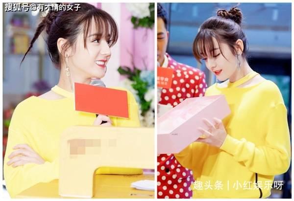 原创             都是空气刘海,袁冰妍、杨紫甜美,看到热巴:被刘海封印了颜值!